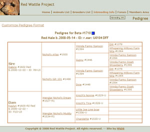 The Red Wattle Hog Association Site