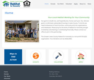Post image for Greater Lewis County Habitat for Humanity